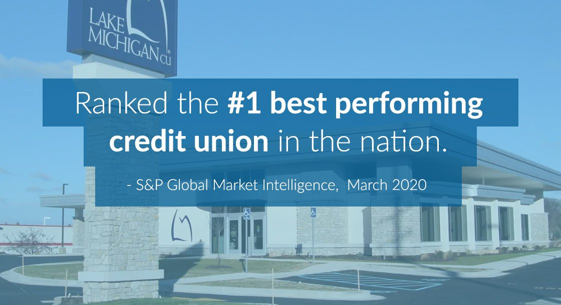 LMCU ranked #1 best performing credit union in the nation